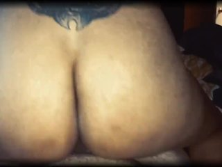 Latina Milf riding Thick Cock