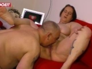 """LETSDOEIT - Fat German Granny Picked Up And Fucked"""