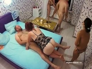 'Cute Chubby Milf Straponed Double Penetration Adult Fetish Group Sex'