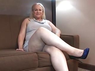 Housewife FATTY fucks big black penis stripper