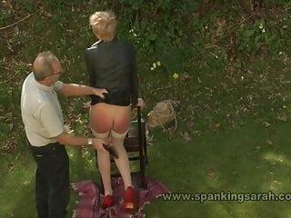 scarlet spanking