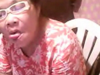 Japanese grandma Elizabeth 57 year showing six ( March 2014)