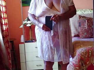 Granny 71 tries young cock for the first time