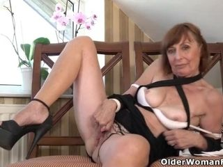 Euro granny Danina benefits from an uptick in desire after menopause|16::Mature,20::MILF,38::HD