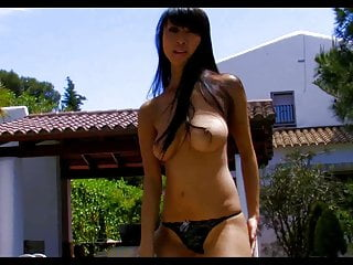 Sharon Lee by Pool