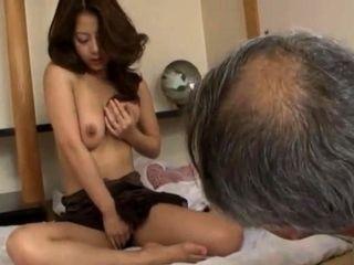 Japanese BBW mature fingering and fucking