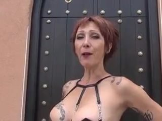 One of the most beautiful MILF with three junior guys- 2