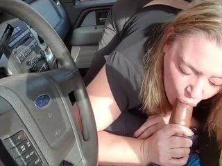 (POV) Cheater wife likes slobbing on BBC knob in broad daylight