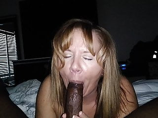 Blonde milf mouth