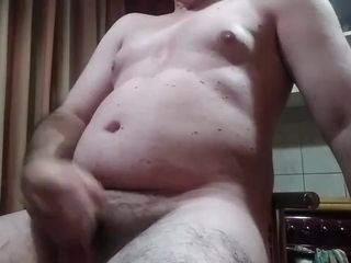 Small dick, big belly, lots of jizz! I have a lot of delicious jizz on me! Enjoy it too!