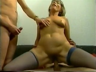 Amazing Homemade video with Grannies, Threesome scenes