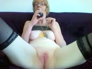Horny Amateur record with Grannies, Solo scenes