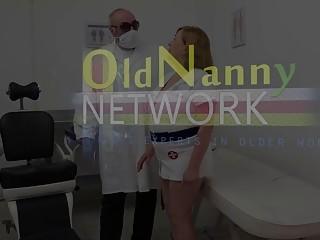 OldNannY Dental Clinic Pussy Licking Adventure