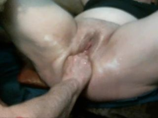 homemade fisted wife multiple squirting orgasms creampied