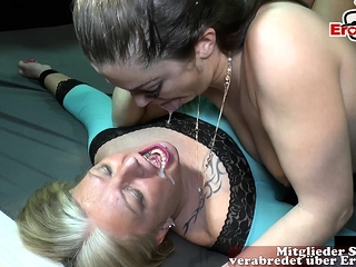 hardcore german cum inside creampie party