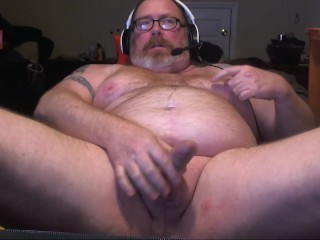 Scjohnk69 on Chaturbate from , Solo ginger male bear, nipple play and cum