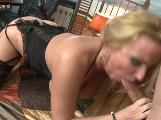 Hot Big Breasted Milf Fucking And Sucking Pov Style - MatureNL
