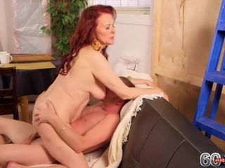 Creampied 70something Cunt With Katherine Merlot