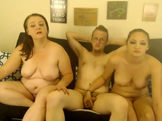 MMF Mature 3some on web cam