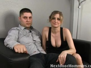 Next Door Mommies: Guy want his wife banged by a black cock