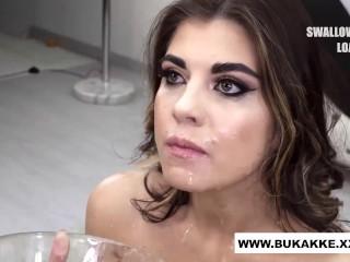 'Gloryhole Slut Suck Any Cock That Cums Her Way - Bukkake.xxx'