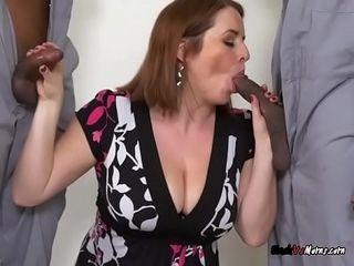 Mature fuckslut Maggie Green Blows The Mechanics