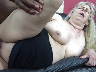 Hungry grannie lured by naughty sonny