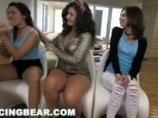 """DANCING BEAR - Stevie's CFNM Bachelorette Party Is Wild And Crazy!"""
