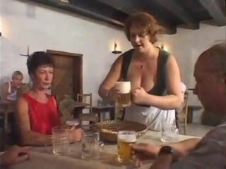 huge big tits petra barmaid