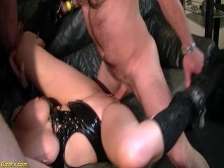 extreme pierced stepmom rough anal group fucked