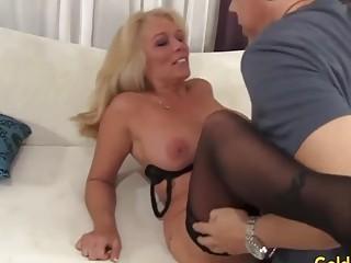 Golden Slut  Eating Mature Pussy Compilation Part 1