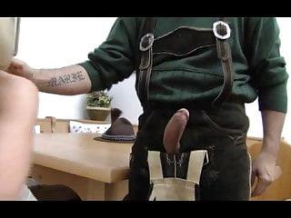German MILF loves anal