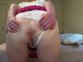 Sweet Arse In Lacy Panty To Worship - TacAmateurs