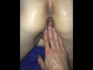 Fisting wife's pussy alien deceitfully