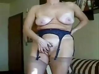 Granny masturbation perfection