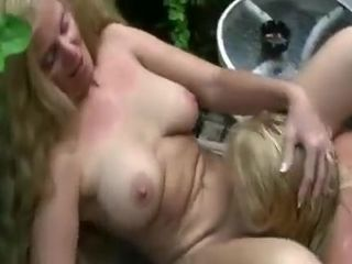 Horny Amateur movie with Blonde, Softcore scenes