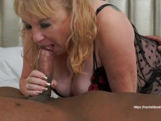 Immense big black cock crams Up Rachel Domino