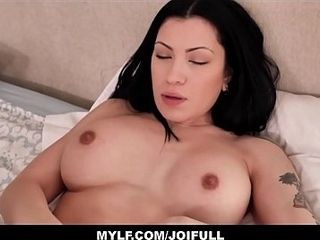 Your torrid brown-haired gigantic udders Step mommy Cassandra Cain Wants You To penetrate Her filthy converse point of view Jerk Off Instructions With
