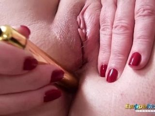 EuropeMaturE Top Quality Solo Ass Toy Fucking|16::Mature,25::Masturbation,38::HD,2331::Toys