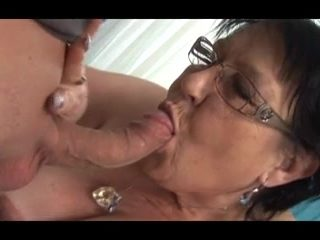 Young Man Seduces Grandma