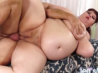 Jeffs Models  Fat Busty MILF Shanelle Savage Taking Cock Compilation 2