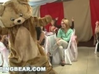 """""""DANCING BEAR - The Bridge To Be And Her Slutty Friends At CFNM Blowbang"""""""