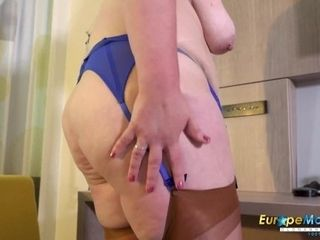 'EuropeMaturE Horny Mature Candy Solo Masturbation'