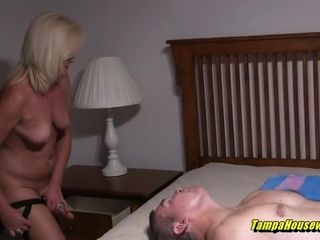 Bisexual Husband Gets a Strapon Pegging