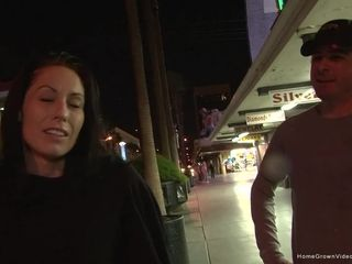 Smoking hot milf picked up and fucked in Vegas hotel