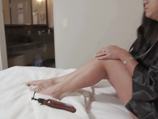 Stepmom seduces stepson in hotel room and he fucks her dry