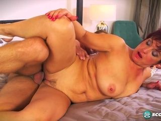 Jessica is saucy and fucked - 50PlusMilfs
