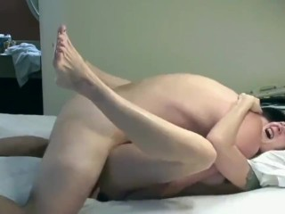 Son-in-law penetrates his marvelous and lonely step-mother in the rump