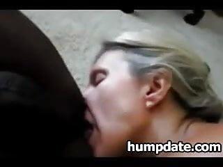 Hungry mom eats BBC ass