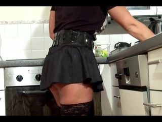 junior Boy Seduce Milf to Fuck and Cum on Stockings